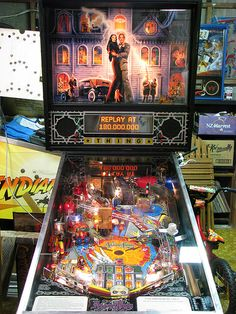 Addams Family pinball machine. I used to love this thing and I forgot about it until my buddy Adam mentioned it. Thanks again!