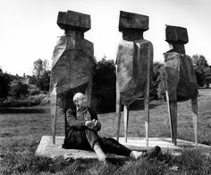 Depth of field: Anne Purkiss captures sculptors at Yorkshire Sculpture Park | Wallpaper*
