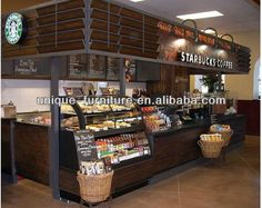 15*12ft starbucks coffee kiosk,coffee shop kiosk design,Indoor coffee kiosk design