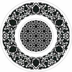 Stencil Painting, Ceramic Painting, Stencils, Horse Wall Art, Stencil Designs, Tile Art, Arabesque, Mandala Art, Islamic Art