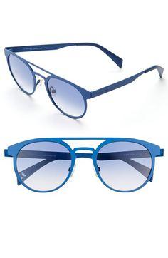 641c62a276 Italia Independent 55mm Round Sunglasses