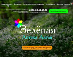 "Check out new work on my @Behance portfolio: ""website for Green pharmacy of Altay"" http://be.net/gallery/55484451/website-for-Green-pharmacy-of-Altay"