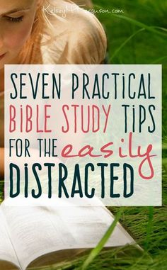 7 Practical Bible Study Tips for the Easily Distracted Studying your Bible doesn't have to be an internal battle of willpower. Check out these 7 practical Bible study tips to help you focus on God's Word and shut-out all other distractions. Bible Study Tips, Bible Study Journal, Scripture Study, Bible Lessons, Bible Study On Prayer, Prayer Journals, Prayer Board, Romans Bible Study, Bible Journaling For Beginners