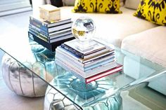15 clear coffee table ideas on domino.com