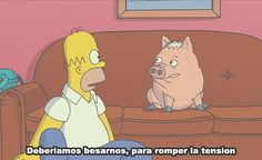 Memes Graciosos De Los Simpson Ideas For 2019 Funny Cartoons, Funny Memes, Hilarious, The Simpsons, Memes Work Offices, Simpsons Frases, Memes In Real Life, New Memes, Homer Simpson