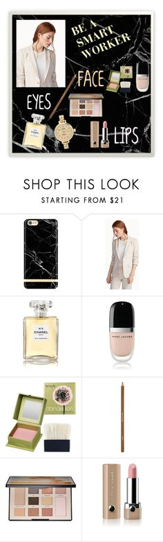 """Be a smart worker"" by perfectmiracle ❤ liked on Polyvore featuring beauty, Judith & Charles, Chanel, Marc Jacobs, Benefit, shu uemura, Sephora Collection and Shinola"