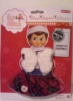 Elf on the Shelf Claus Couture collection clothes Trendsetter Ensemble
