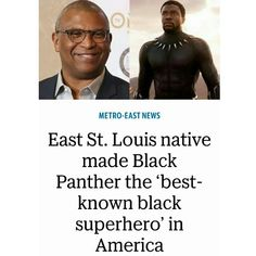 This made me proud... especially since it took shape from my hometown. East St. Louis doesn't often get great media coverage. But let me make this clear great people have walked those streets and ended up making a great impact in this world. #hometownlove #IAmEastStLouis