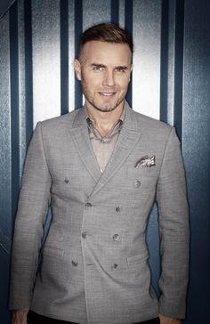 Gary Barlow... Dressed as Mr Grey? ;-)