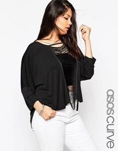 ASOS CURVE Laddered Tunic