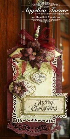 Christmas Tag by AngelicaTurner - Cards and Paper Crafts at Splitcoaststampers