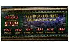 Jam Digital Masjid Tipe Besar , Rp.3.000.000,- pusatjamsholat.com