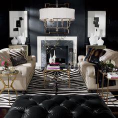 Interior Design Trends: Natural Elements. Tanuki Faux Fur Pillow - Ethan Allen US