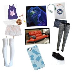 """""""Y!OI bonding lounge"""" by crythin on Polyvore featuring Gilda & Pearl, Rosamosario, UGG and Zimmermann"""