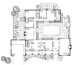 plan 33160zr net zero ready courtyard house plan courtyard house plans courtyard house and photo galleries