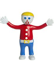 Ohh, Noooo! The Legendary Mr. Bill Lives on in This Bendable, Poseable Figure