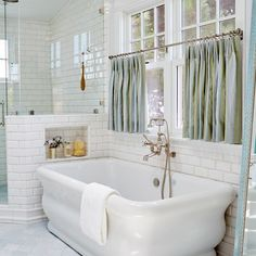 The tub, similar to Strom Plumbing's Solitude Acrylic Double Ended Pedestal Tub…