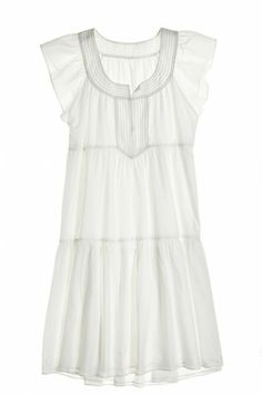 Meda Cotton/Silk Tiered Dress