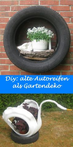 bunte gartenideen autoreifen schlueter design2 upcycling alte reifen weiteres unter www. Black Bedroom Furniture Sets. Home Design Ideas
