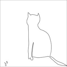 Picasso Line Drawings 281 kitten line drawings