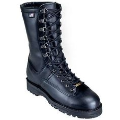 Danner 29110 mens black fort lewis waterproof military boots in Men Military Boots