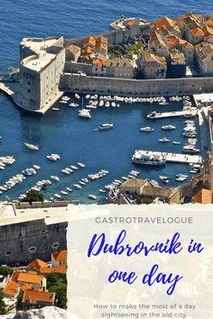 Sightseeing in Dubrovnik, Croatia in 1 day-#sightseeing #dubrovnik #croatia #travelblogger #travel #travelblog #traveltips
