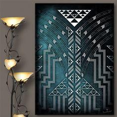 Map Canvas, Canvas Prints, Maori Patterns, Maori Designs, New Zealand Art, Nz Art, Maori Art, Weaving Patterns, Art And Architecture