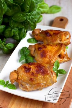 Chicken Tenders, Tandoori Chicken, Spicy, Food And Drink, Tasty, Ethnic Recipes, Diet, Polish Food Recipes