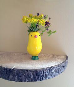 Ceramic Workshop, Clay Studio, Ceramic Animals, Wood Creations, Pottery Studio, Creature Design, Clay Projects, Ceramic Vase, Planting Flowers