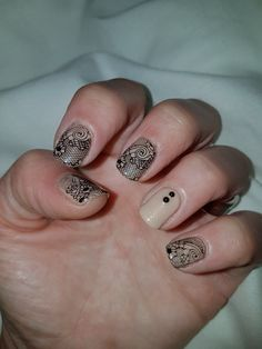 #nailstamping #lace