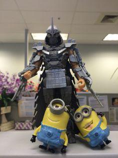 Shredder now has minions