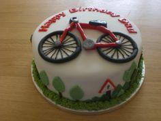 Bicycle cake - Alex birthday cake!
