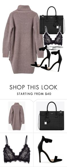 """Untitled #20326"" by florencia95 ❤ liked on Polyvore featuring Yves Saint Laurent and Anine Bing"