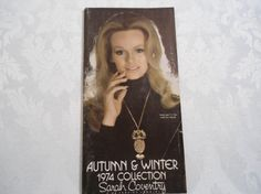 Vintage Sarah Coventry Catalog 1974 Autumn and by ChellesJewels, $20.00
