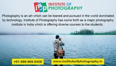 #Institute_of_Photography has come forth as a major #Photography_Institute_in_India which is offering diverse courses to the students. To know more, you can visit our website.