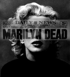 Image shared by Find images and videos about black and white, dead and Marilyn Monroe on We Heart It - the app to get lost in what you love. Marylin Monroe, Marilyn Monroe Fotos, Matisse, Norma Jeane, Old Hollywood, American Actress, The Past, Tumblr, Angeles