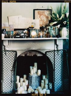 Candle Fireplace!
