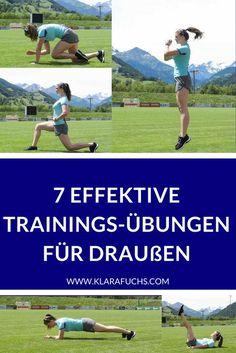 Fit für den Sommer! So kannst du effektiv draußen trainieren! Im Park, auf der Wiese, am See oder am Feld! Trainiere draußen, wann und wo du willst und werde fit für den Sommer!