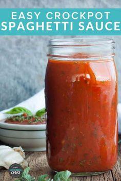 Whole 30 Spaghetti Sauce, Fresh Tomato Spaghetti Sauce, Homemade Spagetti Sauce, Paleo Spaghetti Sauce, Making Spaghetti Sauce, Spaghetti Sauce From Scratch, Homemade Tomato Sauce, Homemade Marinara, Sugar Free Spaghetti Sauce Recipe