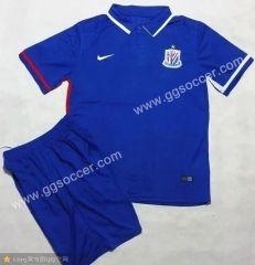 2016/17 Shanghai Greenland Shenhua Blue Soccer Kit