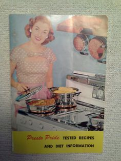 Vintage PRESTO PRIDE recipe & diet booklet by RetrotomicAntiques on Etsy