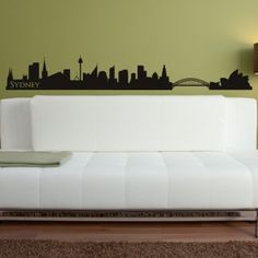 Sydney Skyline Wall Art Sticker Wall Decal - Rest of the World - People & Places