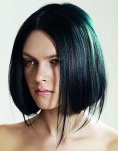 cute dark green hair colour best hairstyle pics 234 hair ideas