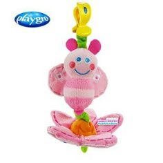 Free shipping New arrival baby toy pink bee bed hang/bed bell pull & shake princess girl loves most 1pc