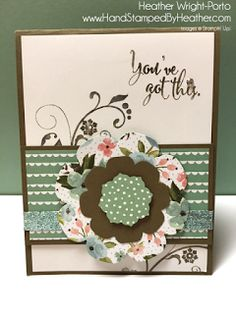 Stampin' Up! Birthday Bouquet: Color Challenge
