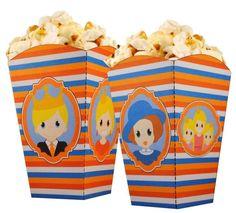 Maak zelf deze leuke Koningsdag popcornbakjes met de downloads van www.printpret.nl
