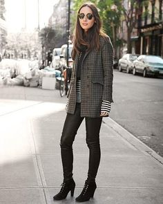Fall / Winter Fashion: What to Wear with Leggings: 10 Stylish Outfit Ideas   @StyleCaster