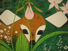 Charley Harper - Faun - detail 03 this guy has such a lovely style it quite beautiful how he does it