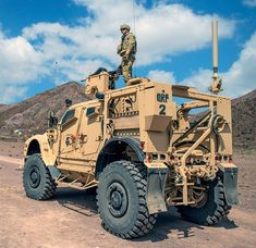 Military Humor, Military Gear, Military Equipment, Military Aircraft, Army Vehicles, Armored Vehicles, Oshkosh M Atv, Army Sergeant, Armored Truck