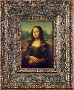 da Vinci, Mona Lisa Pre-Framed Miniature Reproduction Classic Home Decor, Classic House, Mona Lisa, Mysteries Of The World, Magnum Opus, Renaissance Men, Reproduction, Cartography, Custom Framing